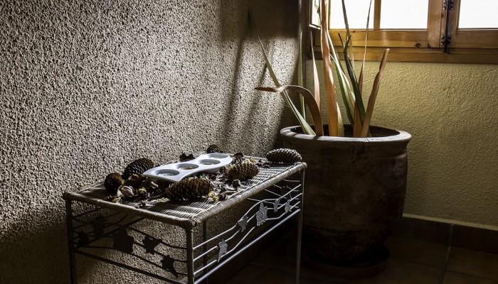 Decoración del Hostal Iguer en Aisa