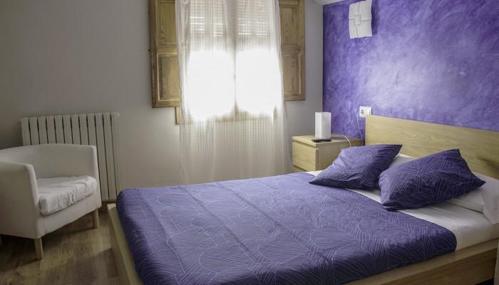 Habitación Ibón. Dormir en Aísa
