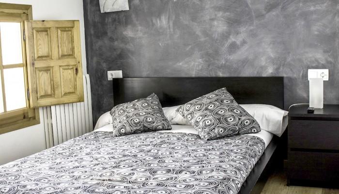 Habitación Senda. Dormir en Aísa